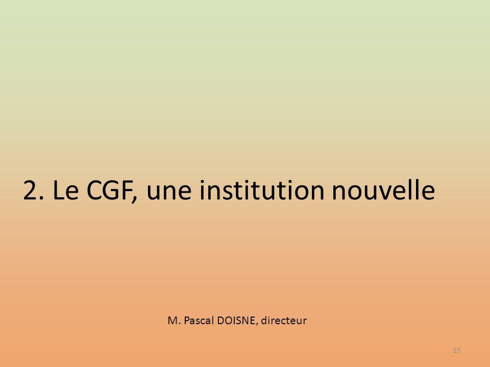 M. Pascal DOISNE, directeur