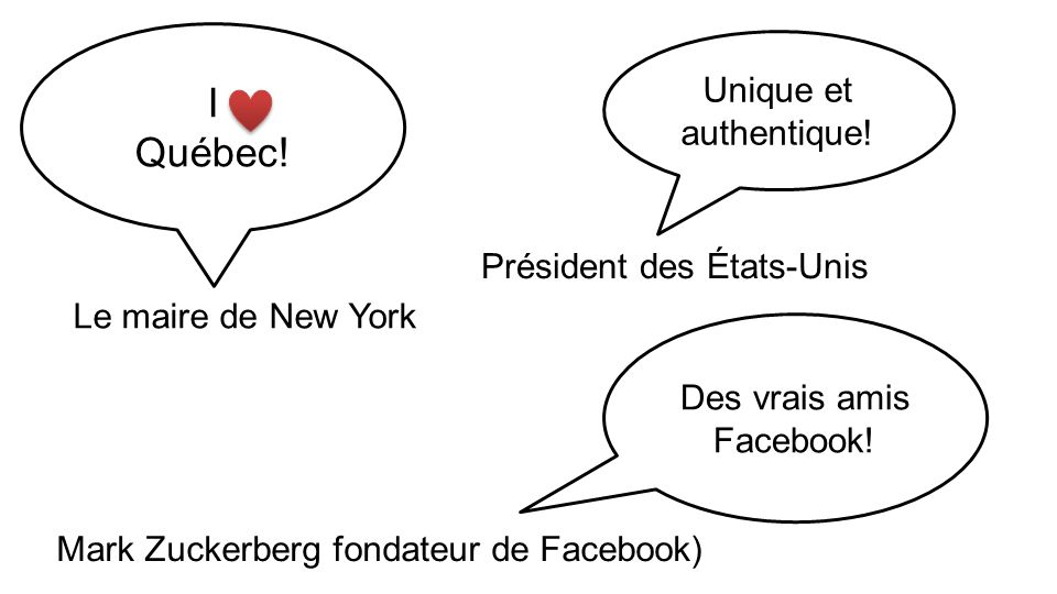 Des vrais amis Facebook!