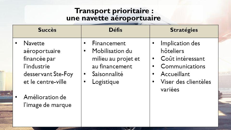 Transport prioritaire : une navette aéroportuaire