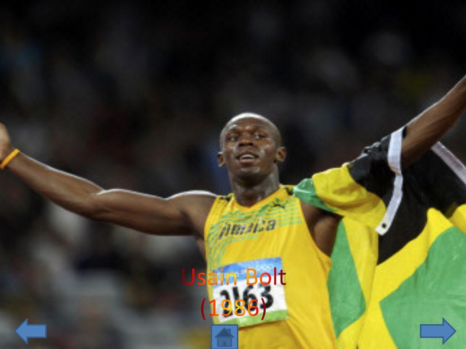 Usain Bolt (1986)