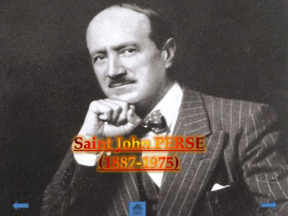 Saint John PERSE (1887-1975)