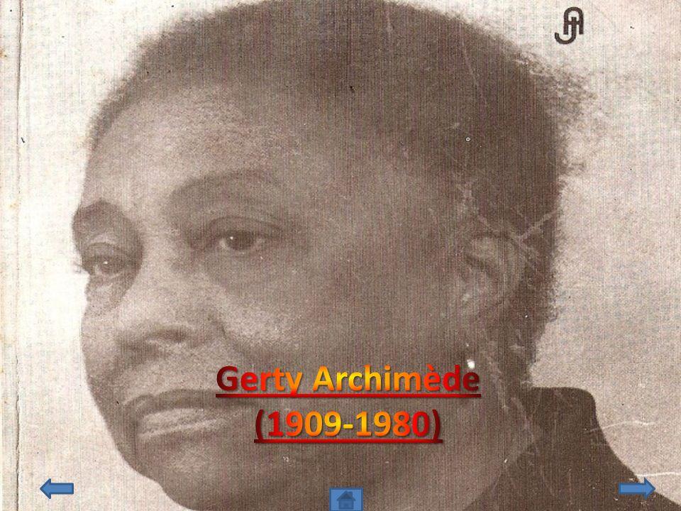Gerty Archimède (1909-1980)