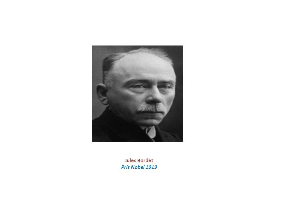 Jules Bordet Pris Nobel 1919
