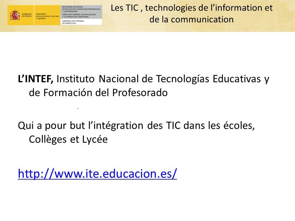 Les TIC , technologies de l'information et de la communication