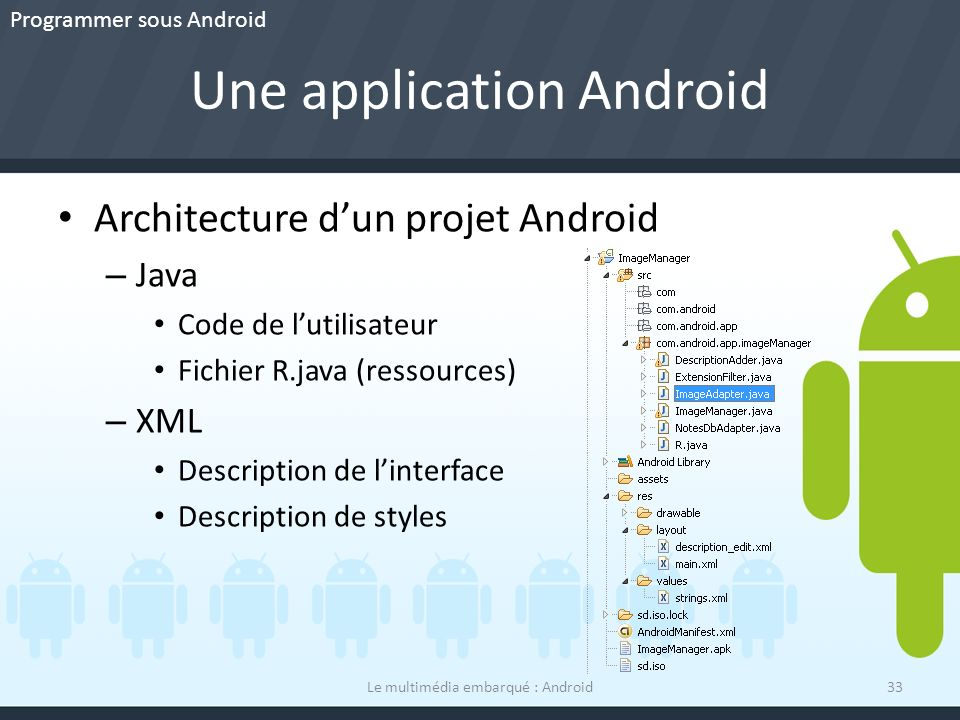 Une application Android