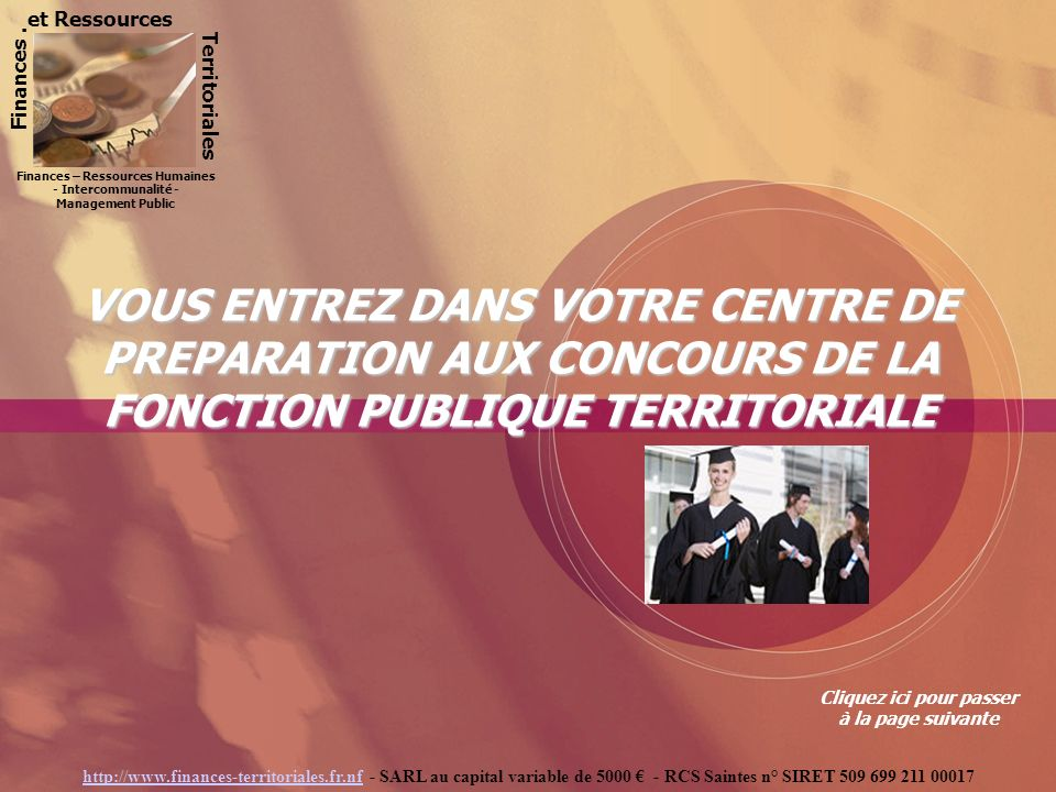 et Ressources Finances . Territoriales. Finances – Ressources Humaines - Intercommunalité - Management Public.