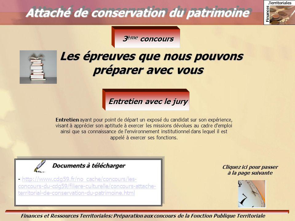 Attaché de conservation du patrimoine