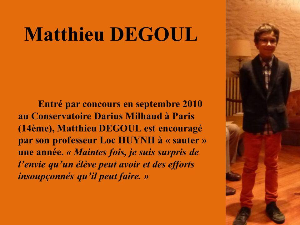 Matthieu DEGOUL