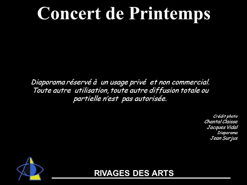 Concert de Printemps RIVAGES DES ARTS
