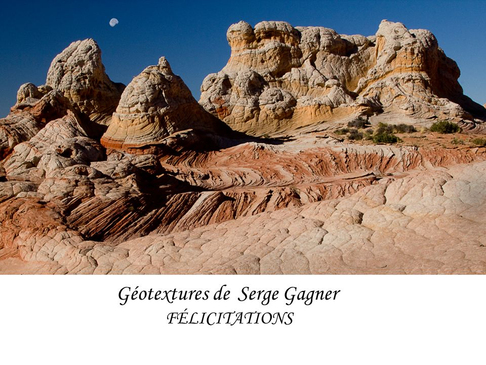 Géotextures de Serge Gagner