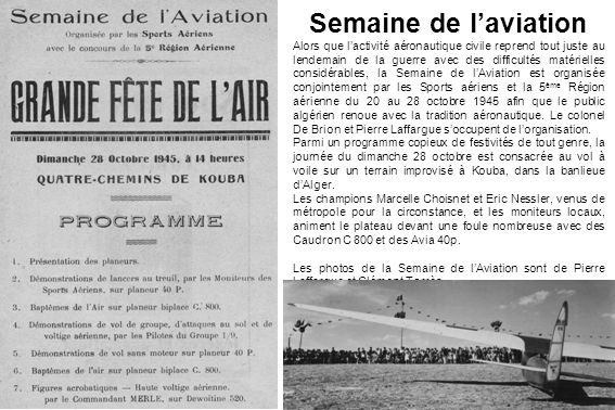 Semaine de l'aviation