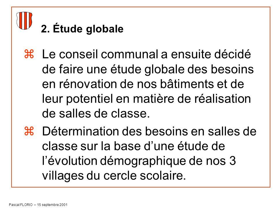 2. Étude globale
