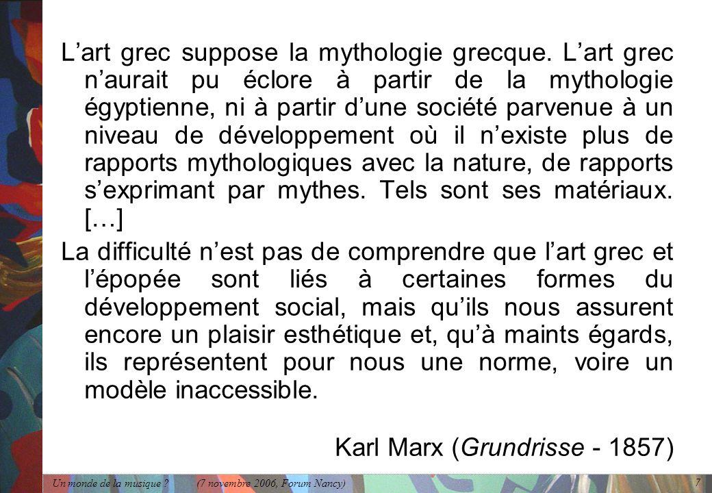 Karl Marx (Grundrisse - 1857)