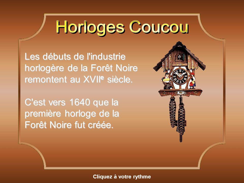 Horloges Coucou
