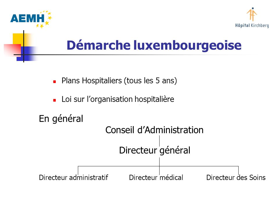 Démarche luxembourgeoise
