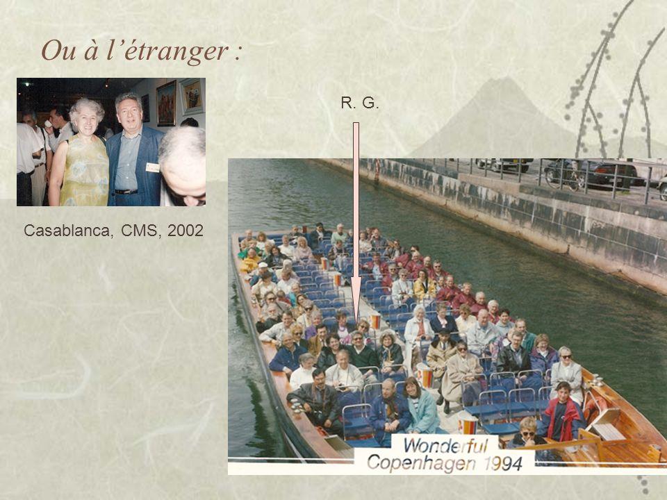 Ou à l'étranger : R. G. Casablanca, CMS, 2002
