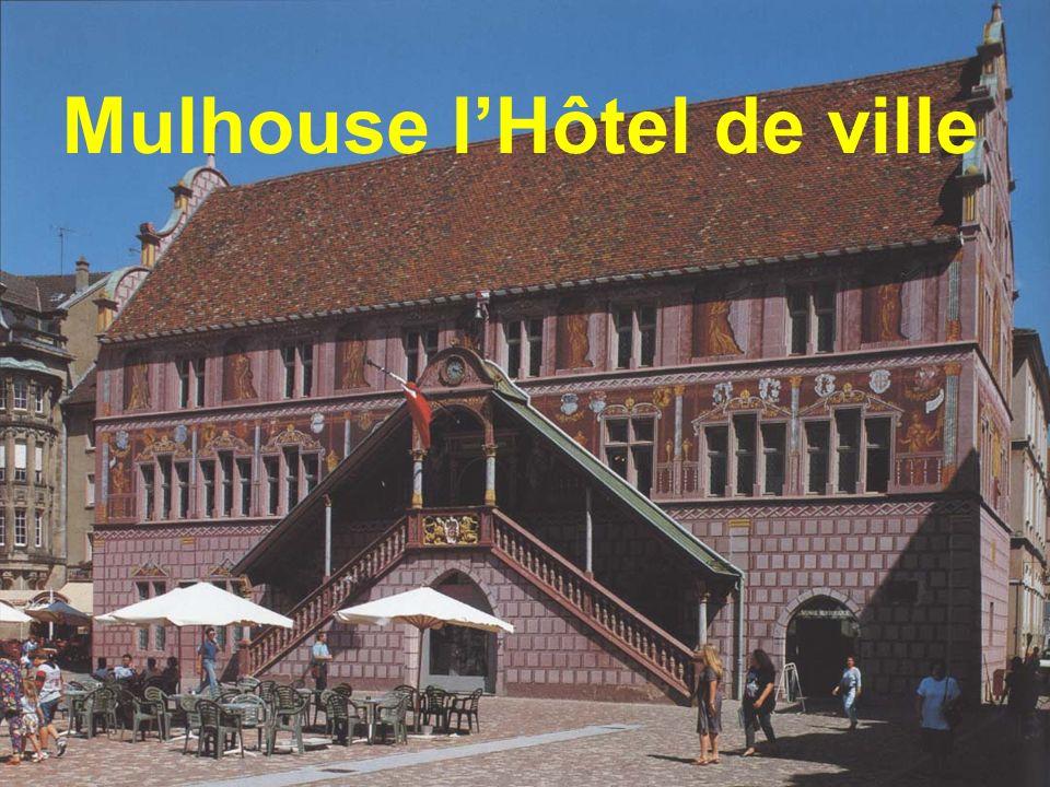 Mulhouse l'Hôtel de ville