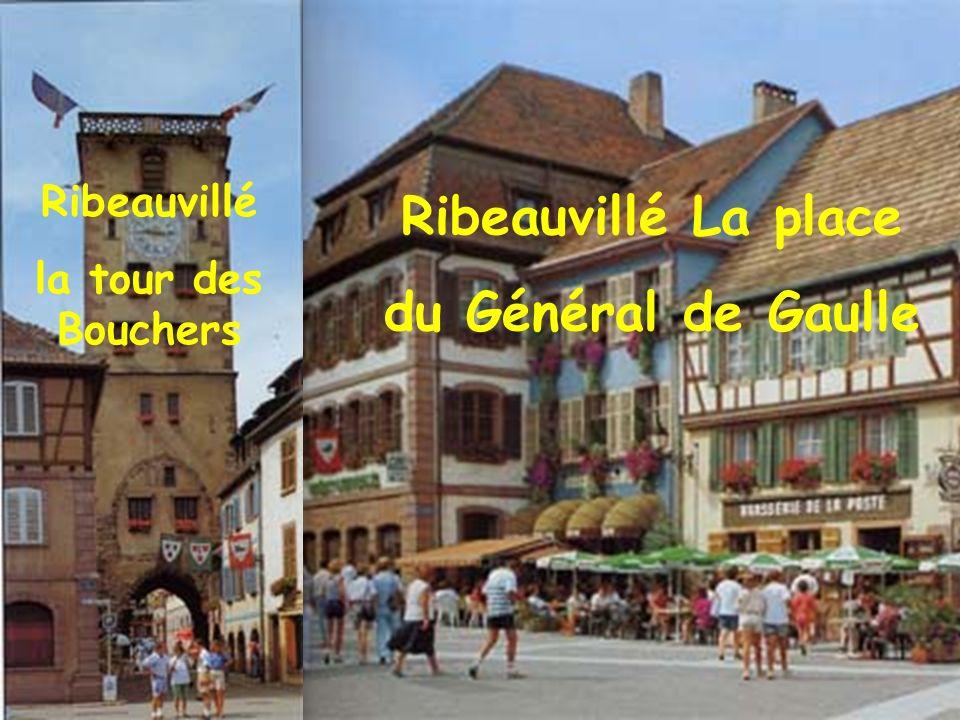 Ribeauvillé La place du Général de Gaulle
