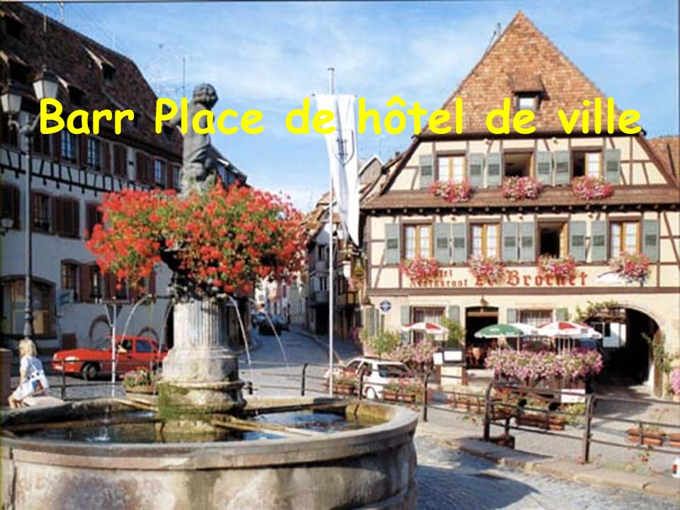 Barr Place de hôtel de ville
