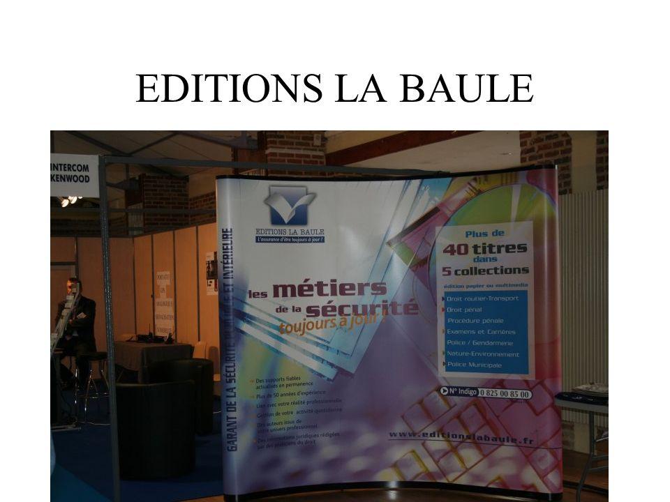 EDITIONS LA BAULE