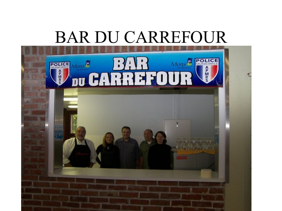BAR DU CARREFOUR
