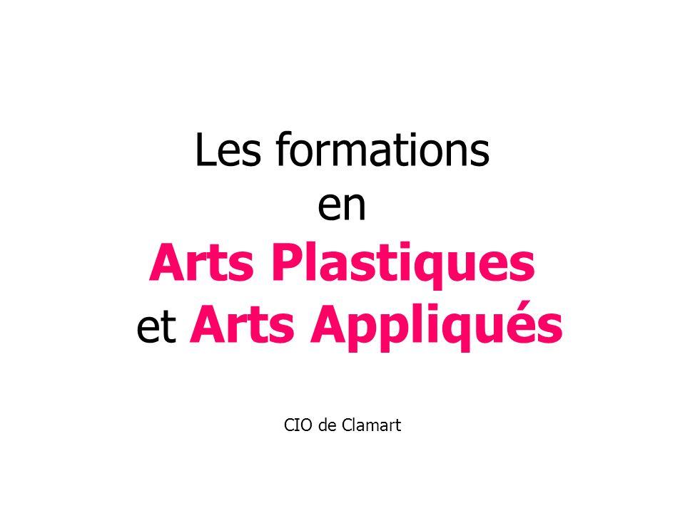 Les formations en Arts Plastiques