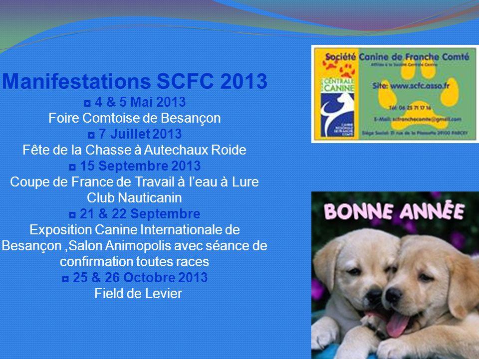 Manifestations SCFC 2013 ◘ 4 & 5 Mai 2013 Foire Comtoise de Besançon