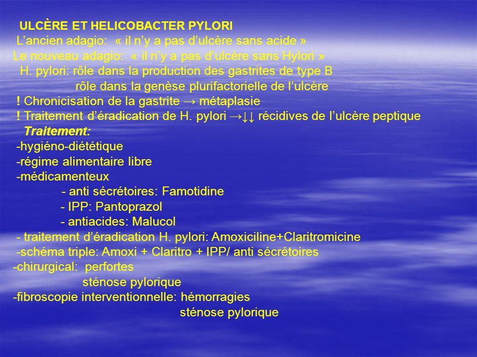 Le nouveau adagio: « il n'y a pas d'ulcère sans Hylori »