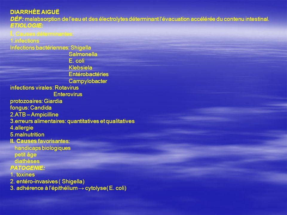 I. Causes déterminantes:
