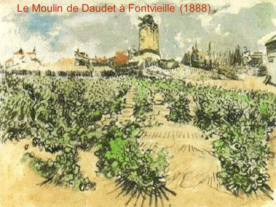 Le Moulin de Daudet à Fontvieille (1888)