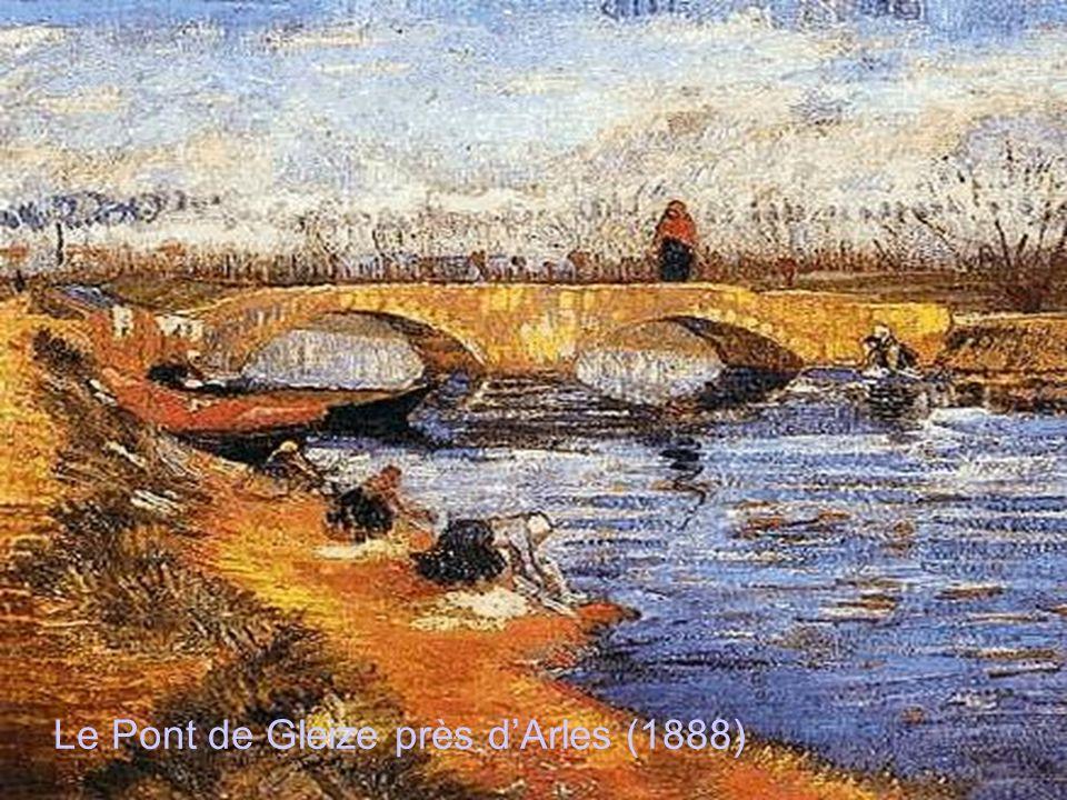 Le Pont de Gleize près d'Arles (1888)