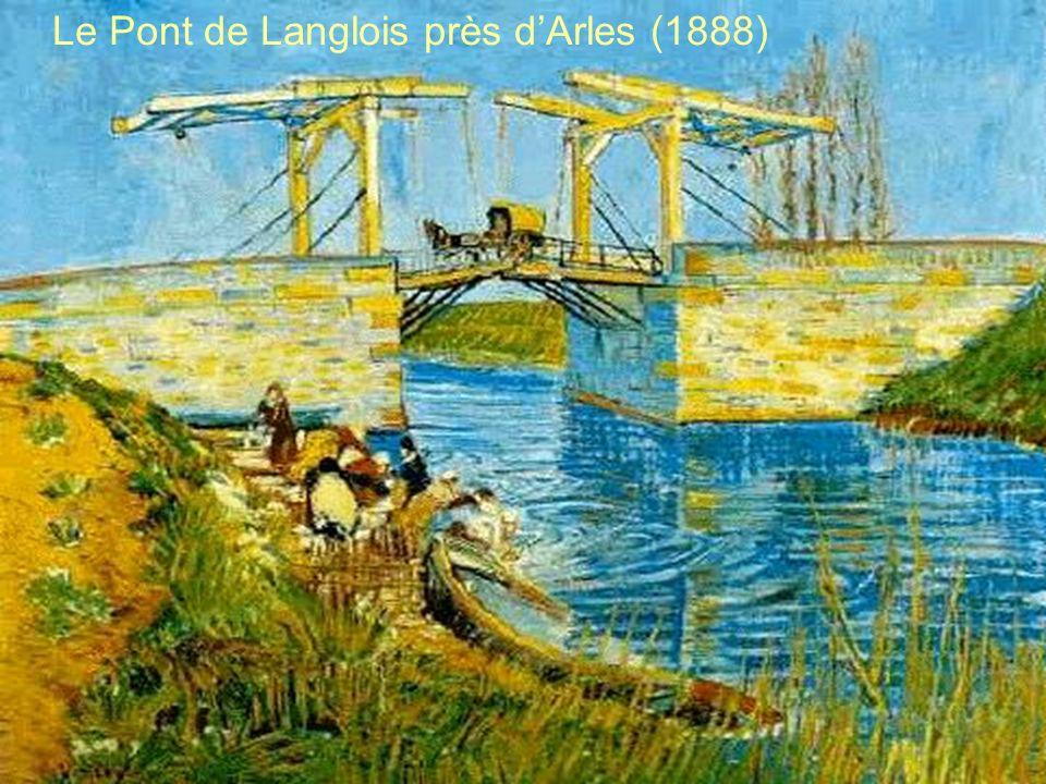 Le Pont de Langlois près d'Arles (1888)