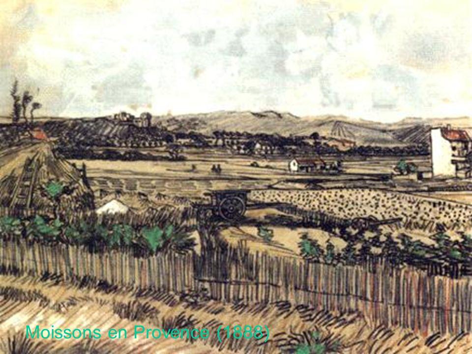 Moissons en Provence (1888)