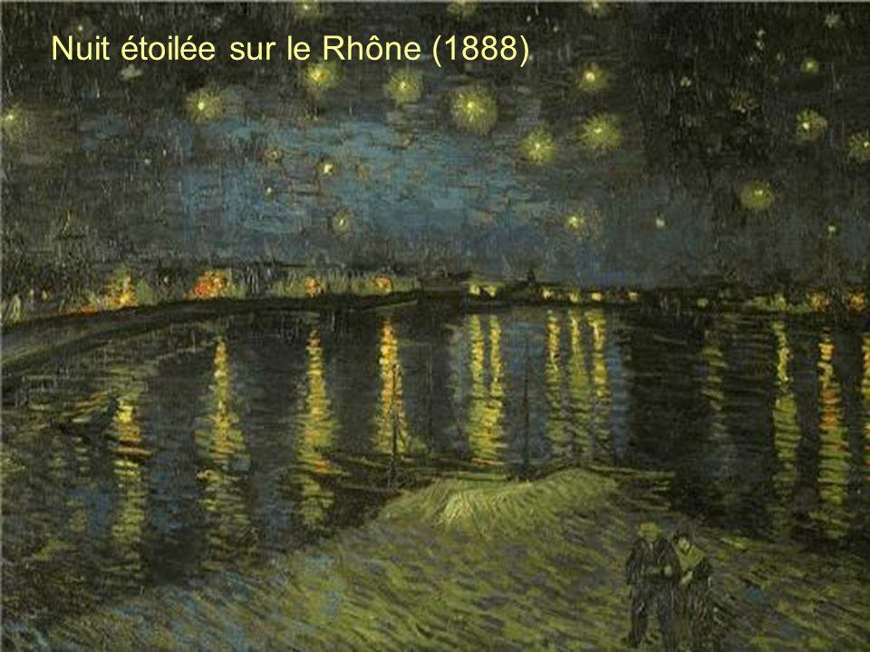 Nuit étoilée sur le Rhône (1888)