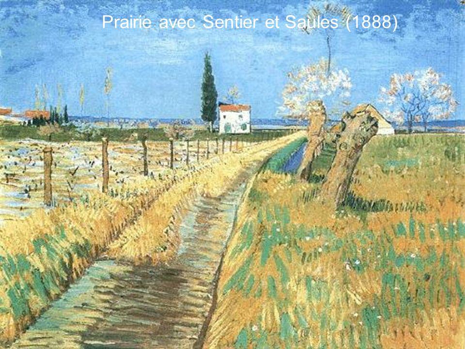 Prairie avec Sentier et Saules (1888)