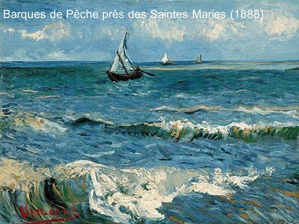 Barques de Pêche près des Saintes Maries (1888)