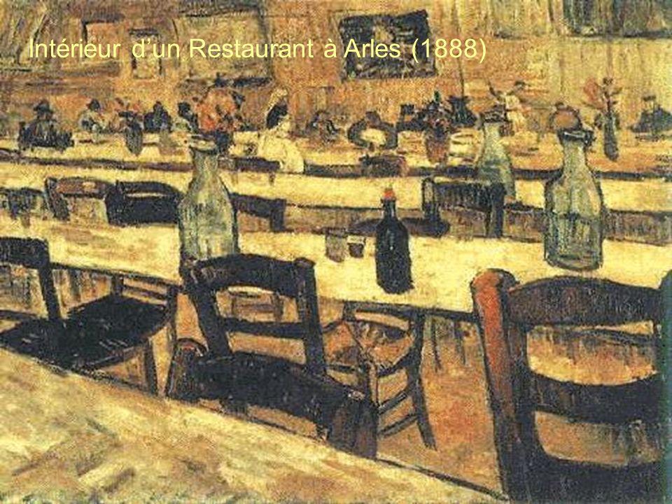 Intérieur d'un Restaurant à Arles (1888)