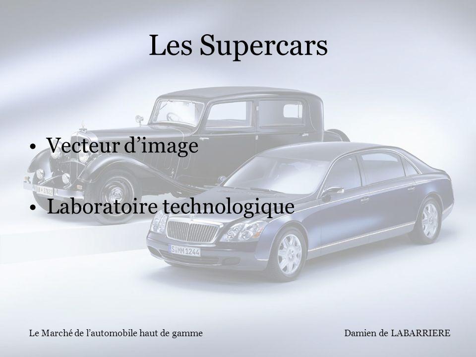 Les Supercars Vecteur d'image Laboratoire technologique