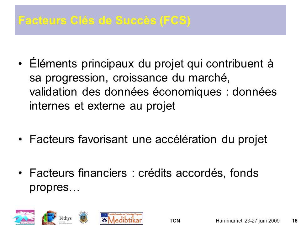 Facteurs Clés de Succès (FCS)