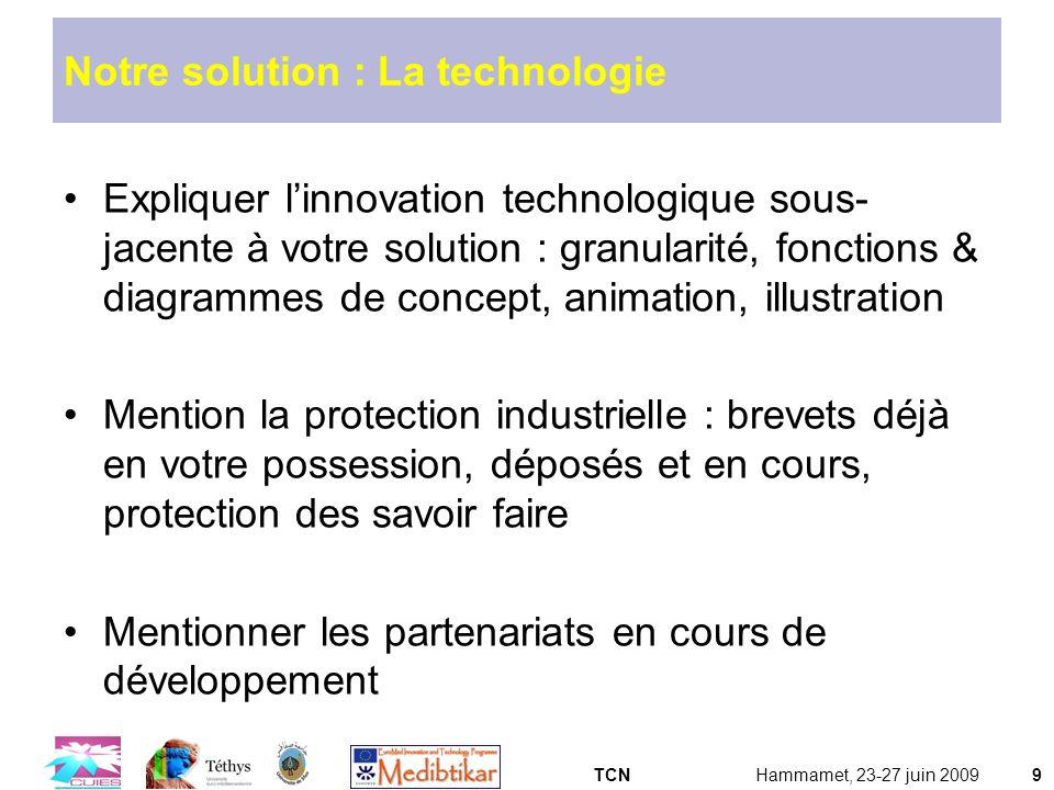 Notre solution : La technologie