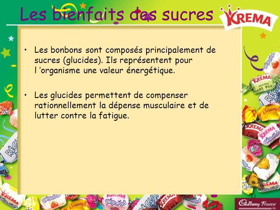 Les bienfaits des sucres