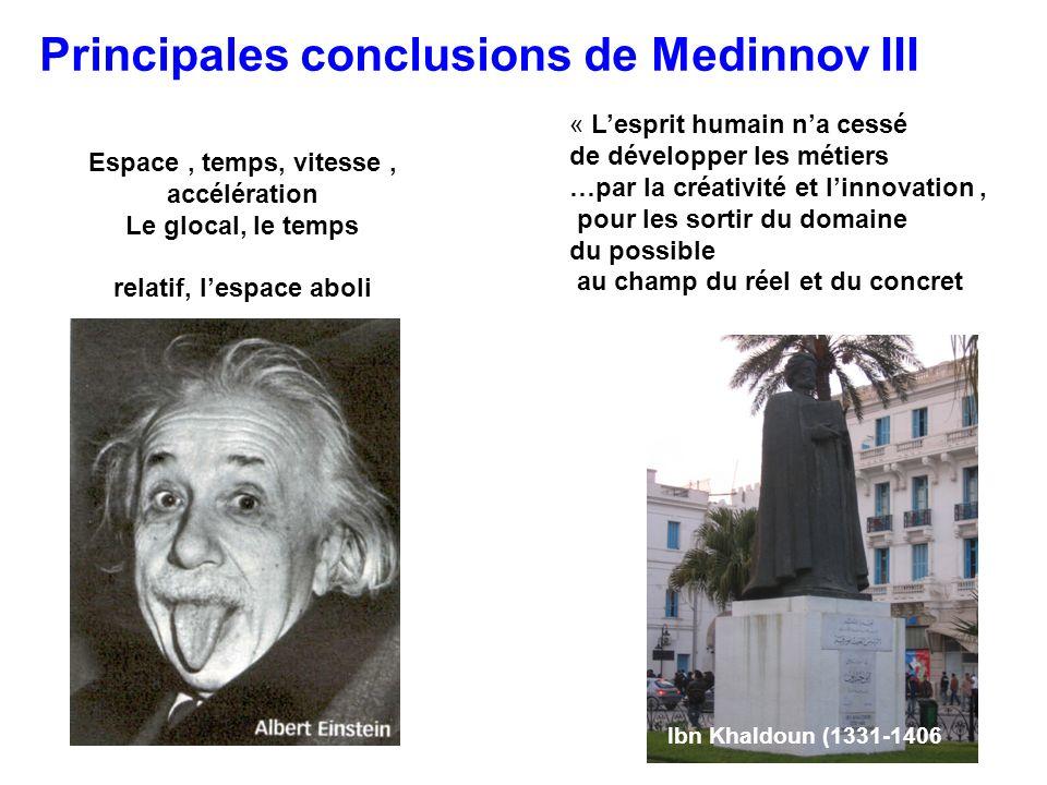 Principales conclusions de Medinnov III