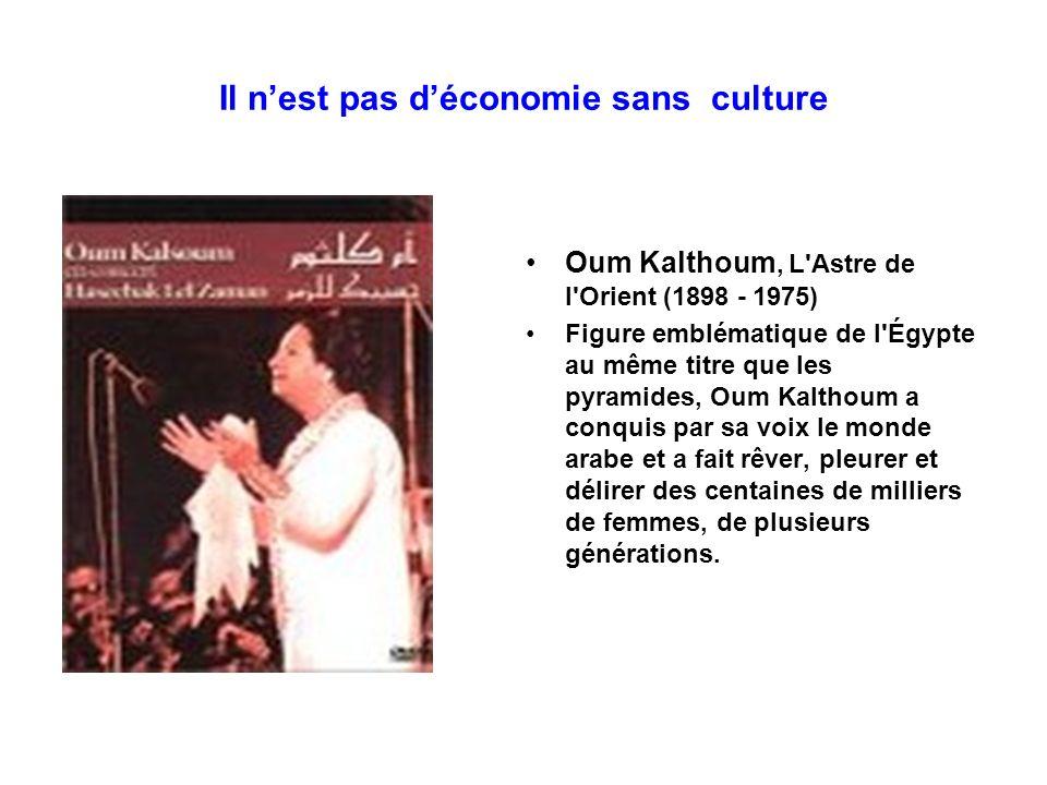 Il n'est pas d'économie sans culture