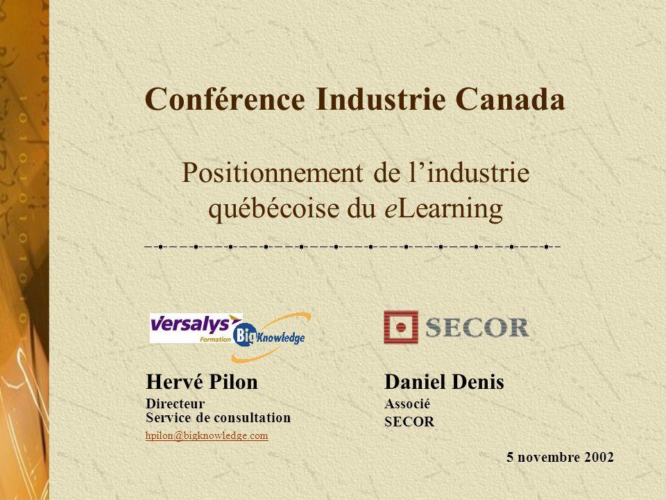 Hervé Pilon Directeur Service de consultation hpilon@bigknowledge.com