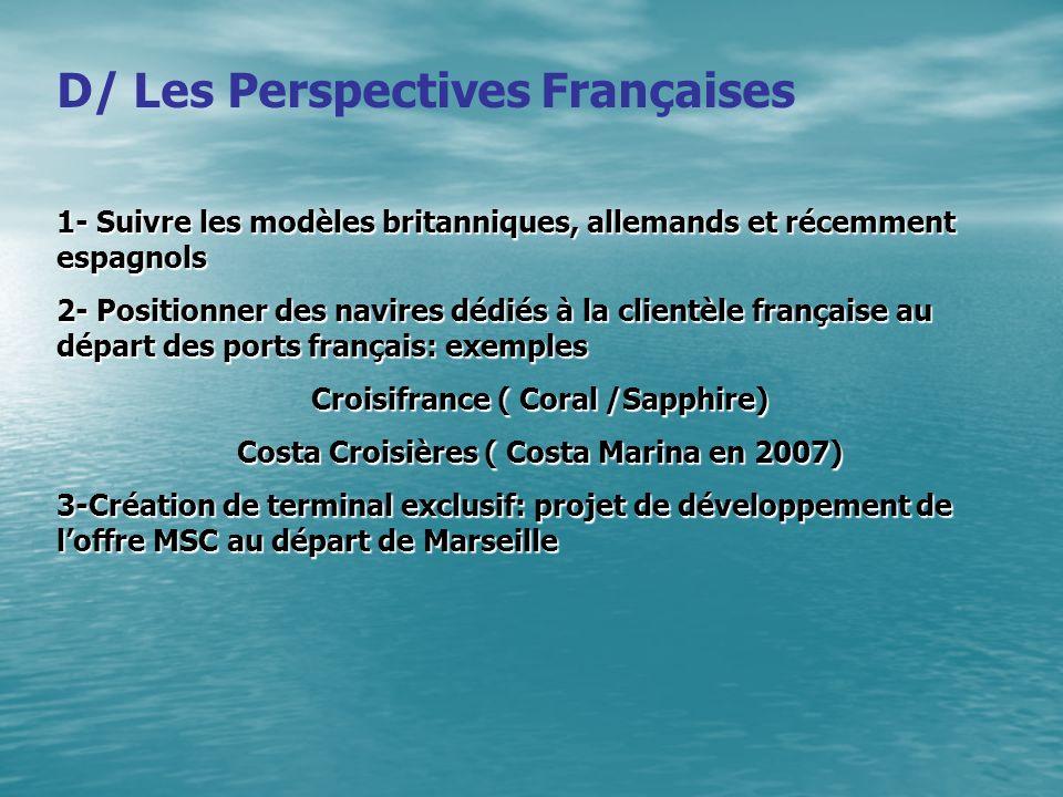 D/ Les Perspectives Françaises