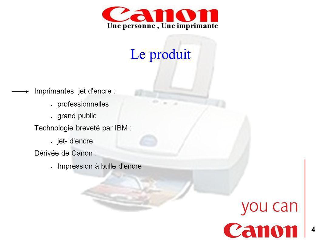 Le produit Imprimantes jet d encre : professionnelles grand public
