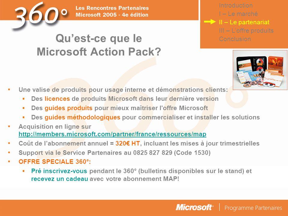Qu'est-ce que le Microsoft Action Pack