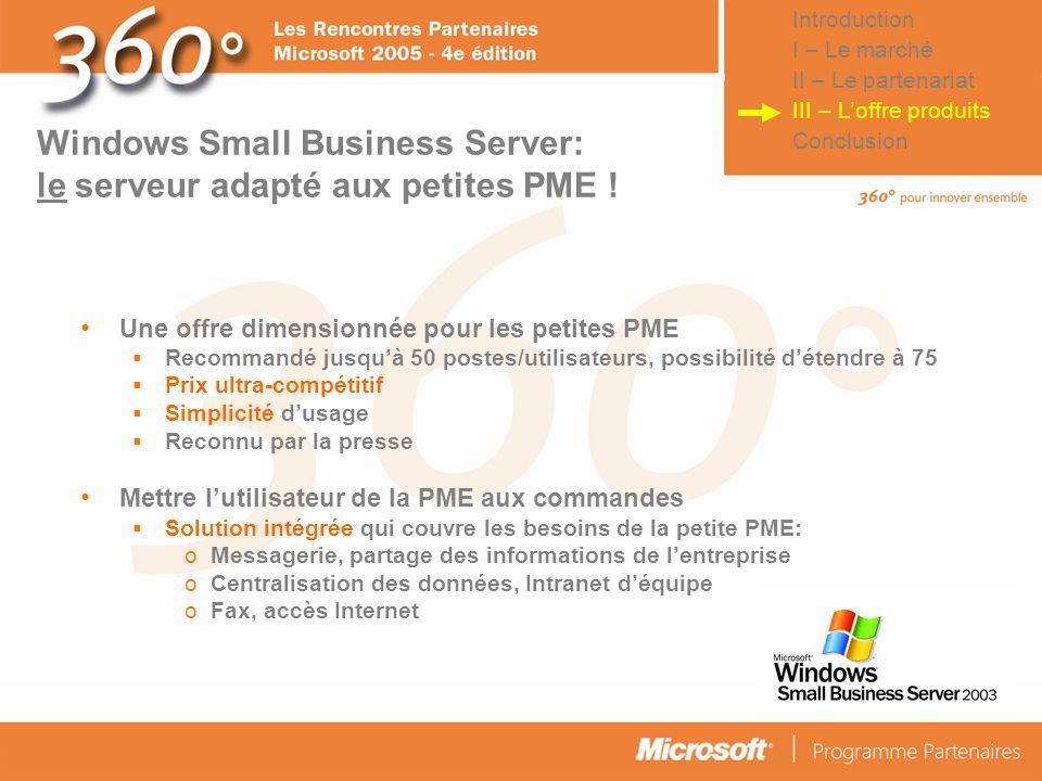 Windows Small Business Server: le serveur adapté aux petites PME !