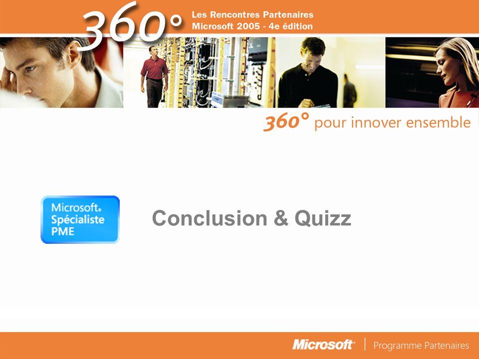 Conclusion & Quizz