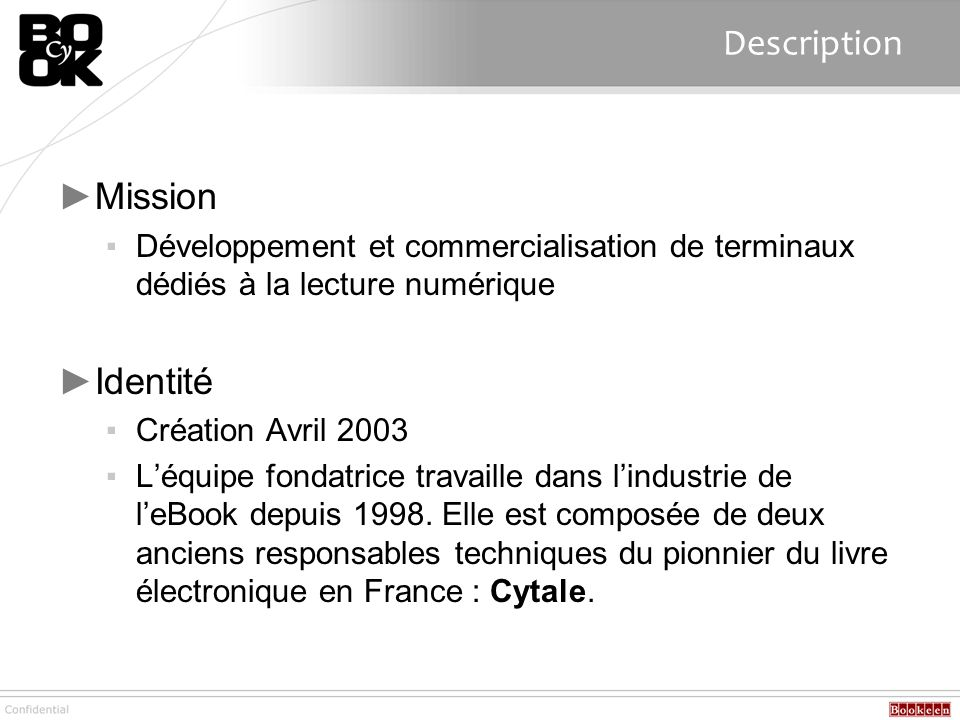 Description Mission Identité